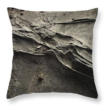 Alien Lines Throw Pillow