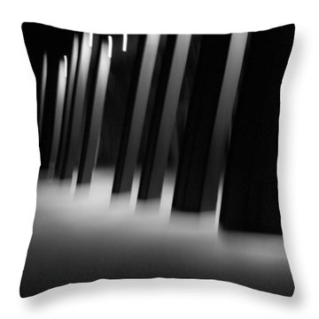 Throw Pillow featuring the photograph Alien Medical Research Center by Alex Lapidus