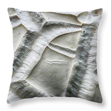 Alien Surface Throw Pillow