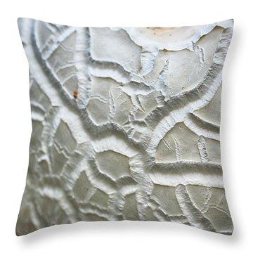 Alien World Throw Pillow