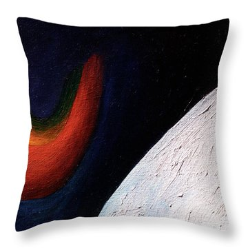 Alight Within Throw Pillow
