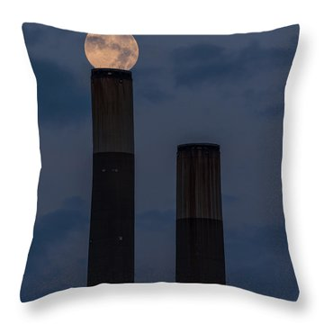 Aligning Worlds Throw Pillow