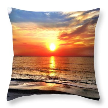 Alignment Throw Pillow by Carlos Avila