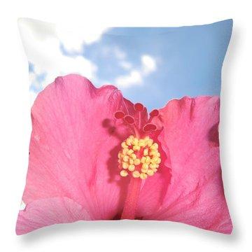 Blissful 33 Throw Pillow