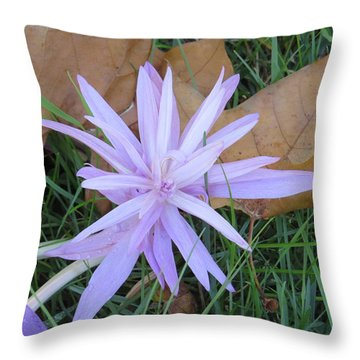 Alive In The Grass Throw Pillow