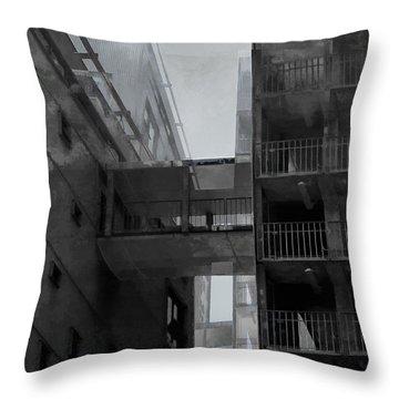All A City Allows Throw Pillow