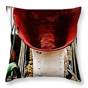 All Ahead Full Throw Pillow