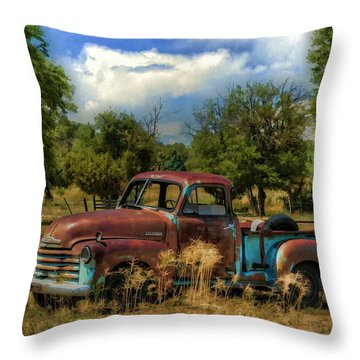 All By Myself Throw Pillow by Ken Smith