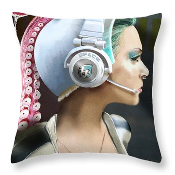 All Clear Roger That Throw Pillow by Jason Longstreet