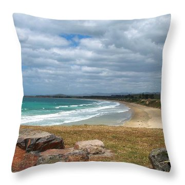 All Day Bay Throw Pillow