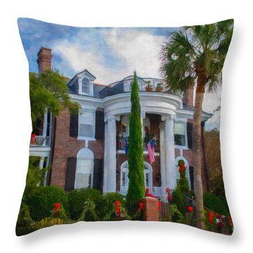 All Decorated Up For Christmas Throw Pillow