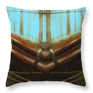 All Fore Naut Throw Pillow