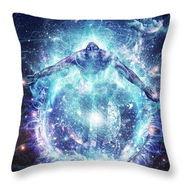 All From Nothing We Became Something Throw Pillow