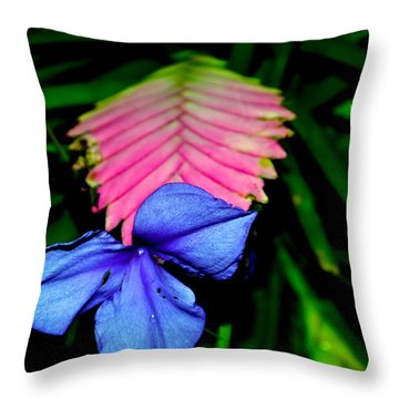 Throw Pillow featuring the photograph All From One by Zafer Gurel