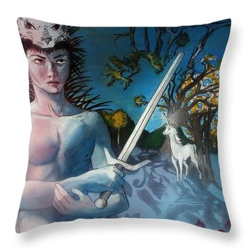 All I Need Is A Unicorn  Throw Pillow