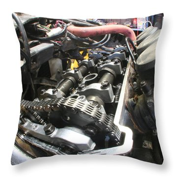 All In The Timing Throw Pillow