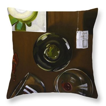 All Looked Fine From Our Perspective Throw Pillow