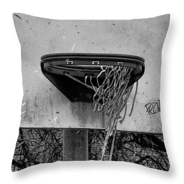 All Net Throw Pillow by Bill Cannon