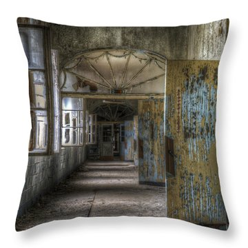 All Opened Throw Pillow