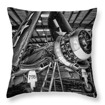 All Opened Up Throw Pillow by Dale Jackson