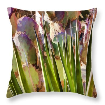 All Pointy And Sharp Throw Pillow