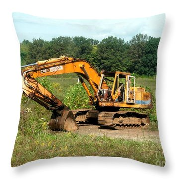 All Ready For Duty Throw Pillow by Kip DeVore