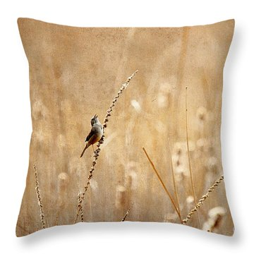 All Rejoicing Throw Pillow