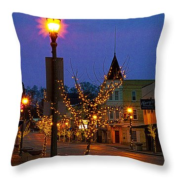 All Shined Up Throw Pillow
