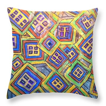 All Six's And Three's Throw Pillow
