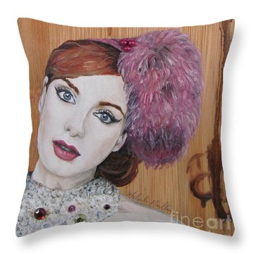All That Girls Love 1 Throw Pillow