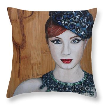 All That Girls Love 3 Throw Pillow