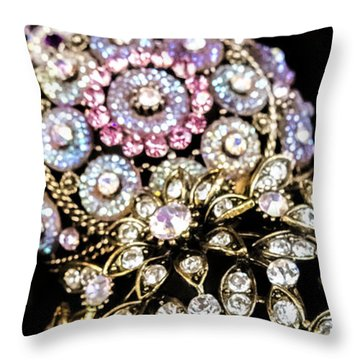 All That Glitters Throw Pillow by Caitlyn  Grasso