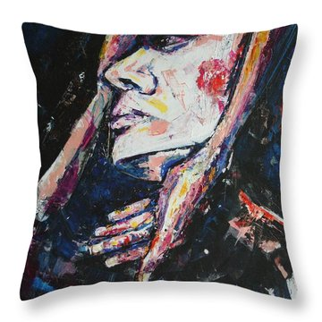 All That I Am And All That I Ever Was Throw Pillow