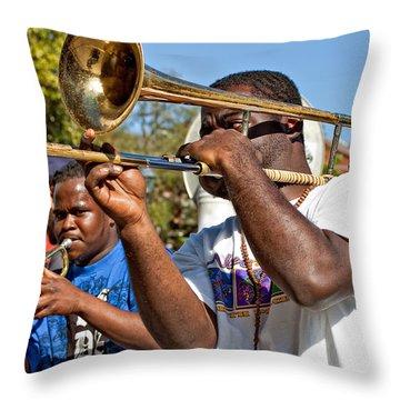 All That Jazz Throw Pillow by Steve Harrington