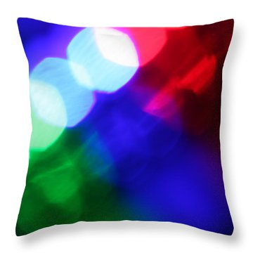 All The World's A Stage Throw Pillow by Dazzle Zazz