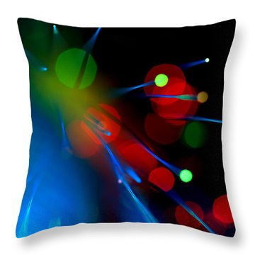 All Through The Night Throw Pillow