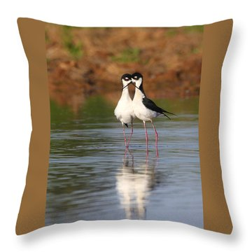 All You Need Is Stilt Love Throw Pillow