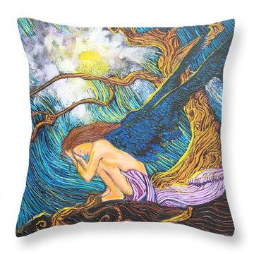 Allayah Throw Pillow