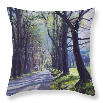 Alleghany Spring Throw Pillow