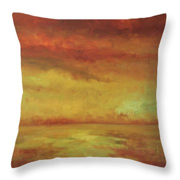 Allegro Throw Pillow by Mary Wolf