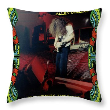 Throw Pillow featuring the photograph A C  Winterland Bong 6 by Ben Upham