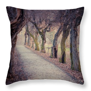 Alley - Square Throw Pillow