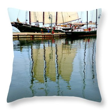 Alliance And Serenity Throw Pillow