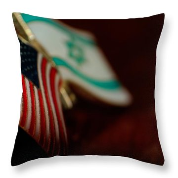 Allies Throw Pillow