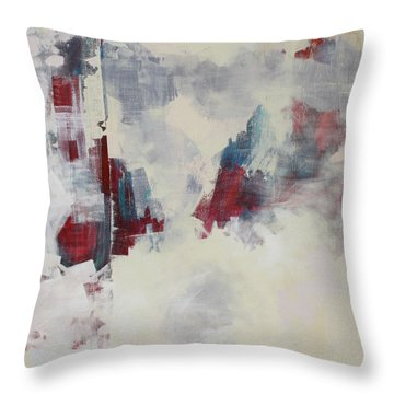 Throw Pillow featuring the painting Alliteration C2012 by Paul Ashby