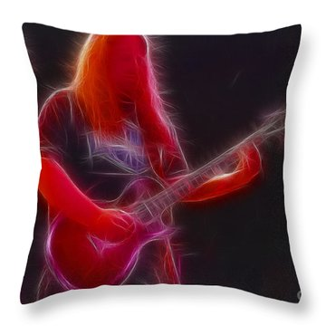 Allman-warren-95-gb3-fractal Throw Pillow by Gary Gingrich Galleries