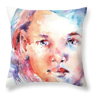 Almost 2 Throw Pillow by Stephie Butler