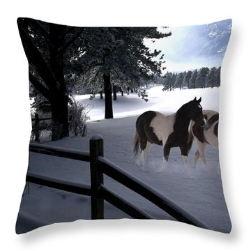 Almost Christmas Throw Pillow