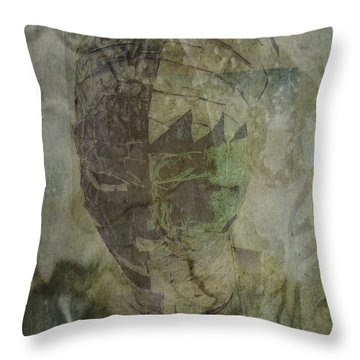 Throw Pillow featuring the photograph Almost Forgoten by Irma BACKELANT GALLERIES