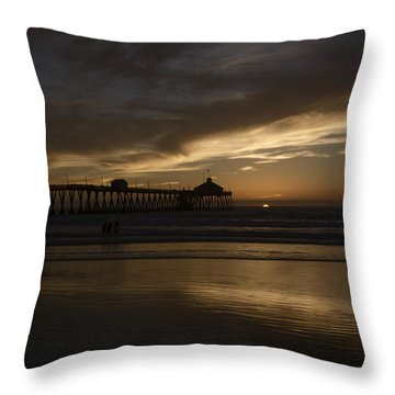 Throw Pillow featuring the digital art Almost Gone by Photographic Art by Russel Ray Photos